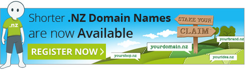 Shorter .NZ Domain Names are now here